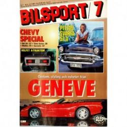 Bilsport nr 7  1987