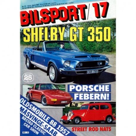Bilsport nr 17  1987