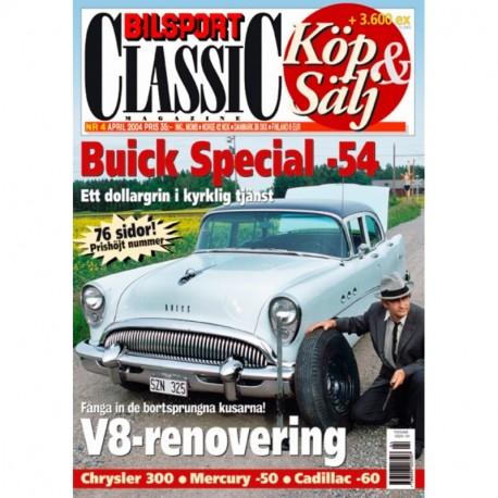 Bilsport Classic nr 4  2004