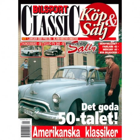 Bilsport Classic nr 1  2001