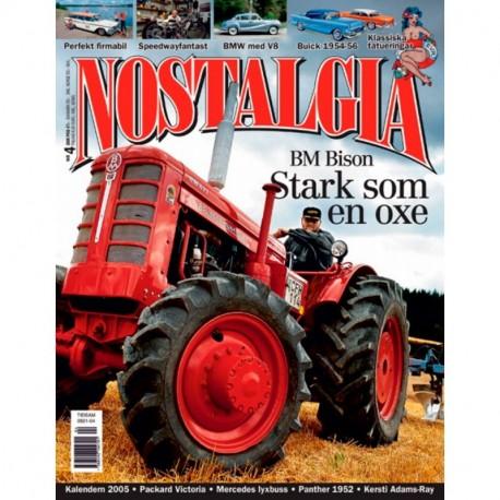 Nostalgia Magazine nr 4  2005