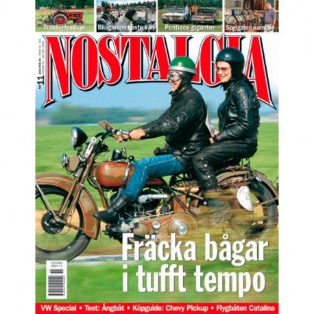 Nostalgia Magazine nr 11  2001