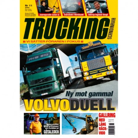 Trucking Scandinavia nr 11  2004