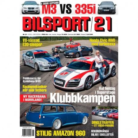 Bilsport nr 21 2016