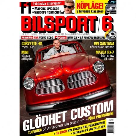 Bilsport nr 6 2015