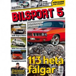Bilsport nr 5 2011