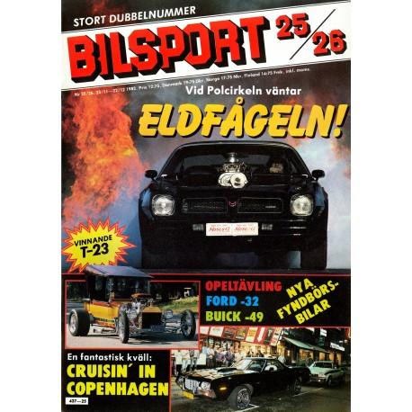 bilsport nr 25  1982