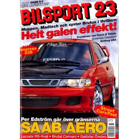 Bilsport nr 23  2004