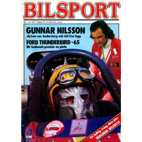 Bilsport nr 7  1977