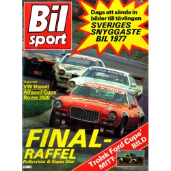 Bilsport nr 10  1976