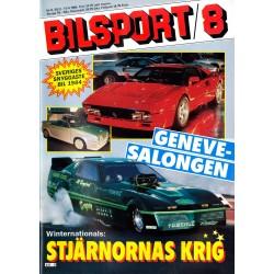 Bilsport nr 8  1984