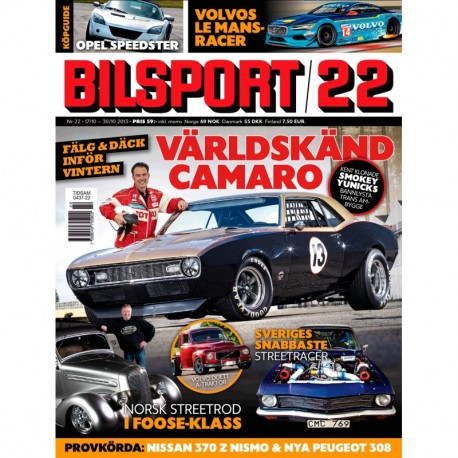 Bilsport nr 22 2013