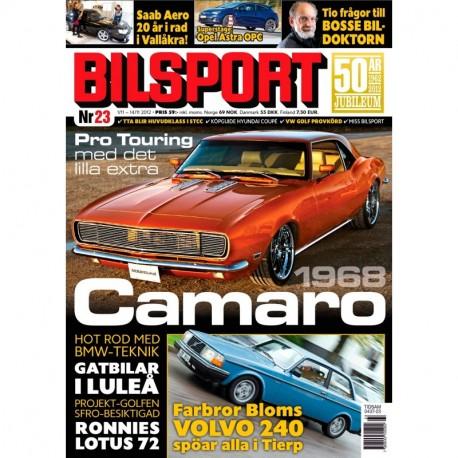 Bilsport nr 23 2012