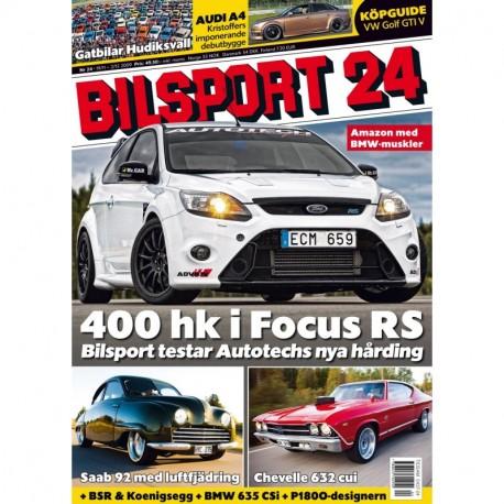 Bilsport nr 24 2009