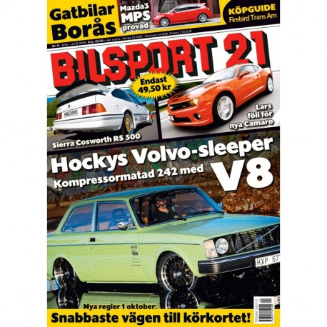 Bilsport nr 21 2009