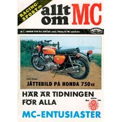 Allt om MC nr 1  1970