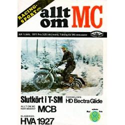 Allt om MC nr 1  1971
