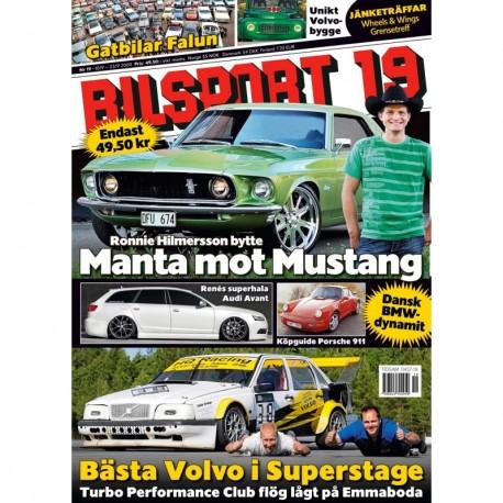 Bilsport nr 19 2009
