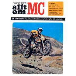 Allt om MC nr 5  1971