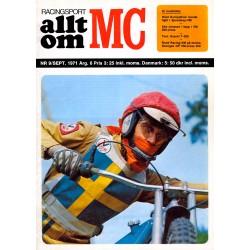 Allt om MC nr 9  1971