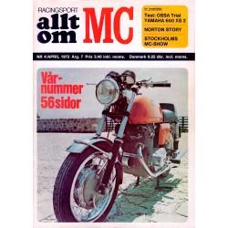 Allt om MC nr 4  1972