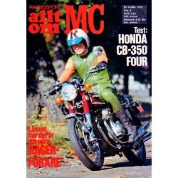 Allt om MC nr 1  1973
