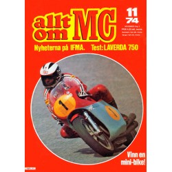 Allt om MC nr 11  1974