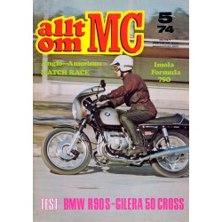 Allt om MC nr 5  1974