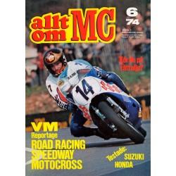 Allt om MC nr 6  1974