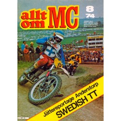 Allt om MC nr 8  1974