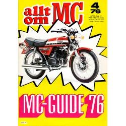 Allt om MC nr 4  1976