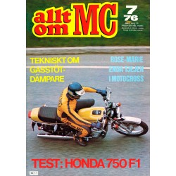 Allt om MC nr 7  1976