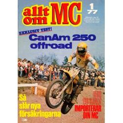 Allt om MC nr 1  1977