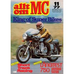 Allt om MC nr 11  1977