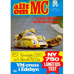 Allt om MC nr 6  1977