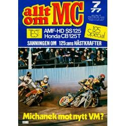 Allt om MC nr 7  1977