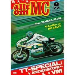 Allt om MC nr 8  1977