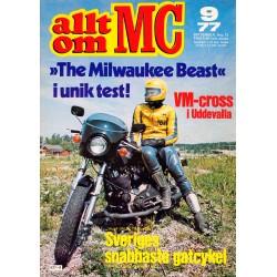 Allt om MC nr 9  1977