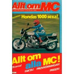 Allt om MC nr 4  1978