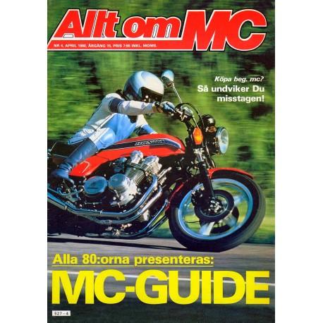 Allt om MC nr 4  1980