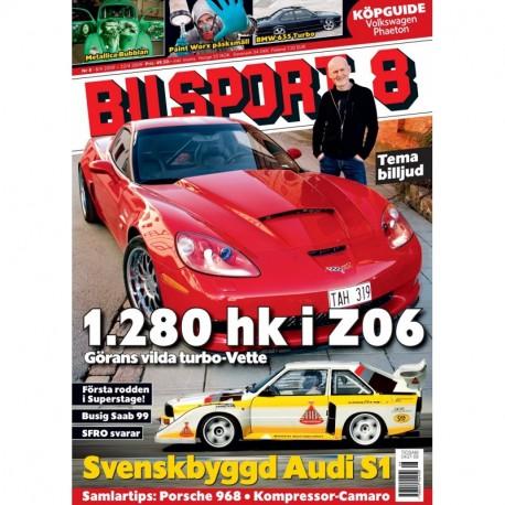 Bilsport nr 8 2009