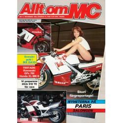 Allt om MC nr 11  1983