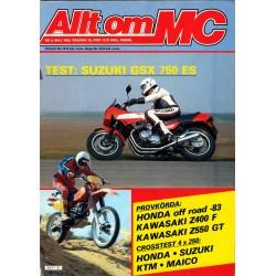 Allt om MC nr 5  1983