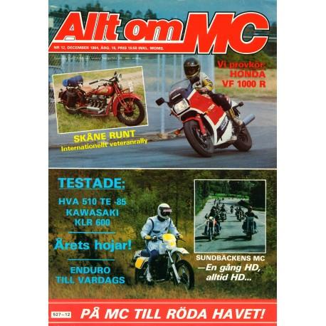 Allt om MC nr 12  1984