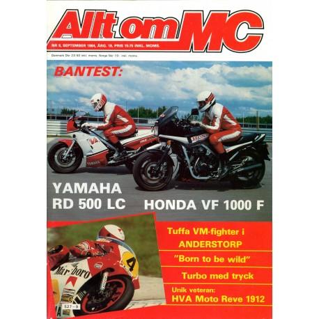 Allt om MC nr 9  1984
