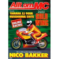 Allt om MC nr 12  1985