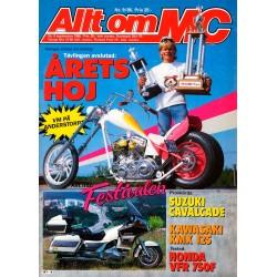 Allt om MC nr 9  1986