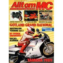 Allt om MC nr 12  1988