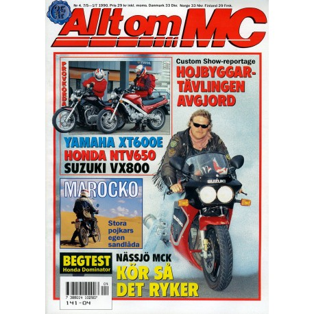 Allt om MC nr 4  1990