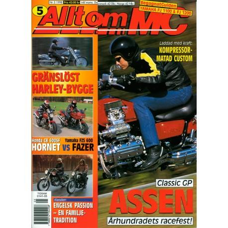 Allt om MC nr 5  1998